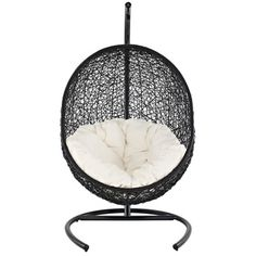 Encase Suspension Series Rattan Outdoor Wicker Patio Swing Chair