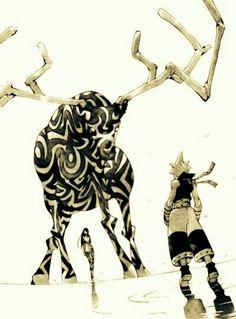 Tsubaki, Black Star, demon; Soul Eater
