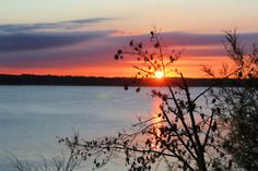 Lake Red Rock ~ Knoxville, IA - my family lives there! Me? I've got the Mississippi River.