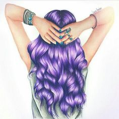 Nice Hair drawing