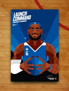 Nike All-Star Week Illustrations by Always With Honor.