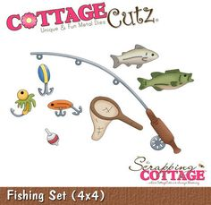 Cottage cutz fishing set