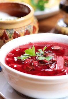 Kuchnia ukraińska i huculskie przysmaki - zjesz je w Krakowie.