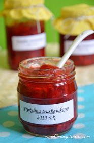 Frużelina truskawkowa Polish Desserts, Polish Recipes, Sweet Recipes, Cake Recipes, Peach Jam, Easy Cooking, Cooking Ideas, Food Hacks, Food And Drink