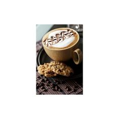 oh yeah Coffee/Tea/Hot Chocolate/Cider ❤ liked on Polyvore featuring food