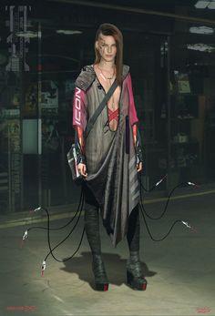 ArtStation - Cyberpunk Brain Hacker, Adrian Marc