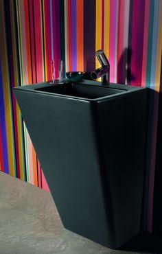 Contemporary Bathroom Inspiration from Laufen Contemporary Bathroom Inspiration, Contemporary Bathroom Designs, Modern Bathrooms, Contemporary Furniture, Modern Contemporary, Dream Home Design, House Design, Wc Sitz, Bad Inspiration