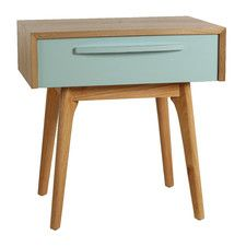 Maximilian End Table....Could put a dresser drawer on legs for this look!