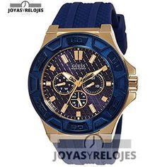 ⬆️✅ Guess W0674G2 ⬆️✅ Maravilloso Modelo perteneciente a la Colección de RELOJES GUESS ➡️ PRECIO 123.35 € En exclusiva en  https://www.joyasyrelojesonline.es/producto/guess-w0674g2-reloj-de-pulsera-hombre-silicona-color-azul/  ¡¡Corre que vuelan!! #Relojes #RelojesFestina #Festina