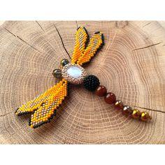 Dragonfly Necklace Unique Necklace Pedant Large Dragonfly Pendant... (125 PLN) via Polyvore featuring jewelry, necklaces, dragonfly, yellow gold jewelry, dragonfly necklace, gold jewelry, gold necklace i dragonfly pendant necklace