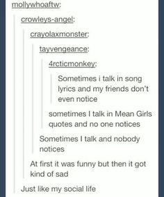 Do I save this to humor or. Funny Pins, Stupid Funny Memes, Hilarious, Funny Stuff, Random Stuff, Mean Girl Quotes, Tumblr Stuff, Tumblr Funny, Texts