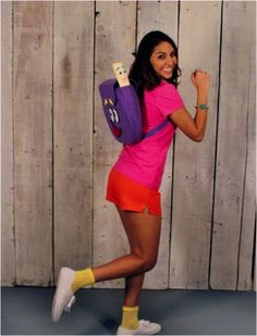 Dora the Explorer for #halloween. Love!!