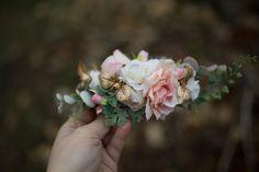 Haarkämme - Blumen Haarkamm, Hochzeit Haarkamm - ein Designerstück von magaela bei DaWanda