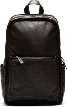 Marc by Marc Jacobs - Black Leather Out Of Bound Backpack