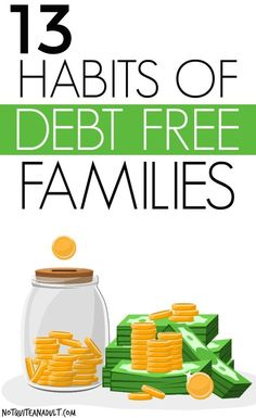 There are a ton of families out there who are living a debt-free life and never having to pay interest! Learn these habits to start a debt-free life and really start being more frugal in order to get your family budget under control. Debt Free Living, Living On A Budget, Family Budget, Frugal Living, Budgeting Finances, Budgeting Tips, Free People, Paying Off Credit Cards, Thing 1