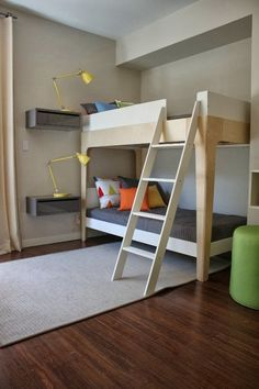 I have this bunk bed and would love to incorporate the floating night stands with it!