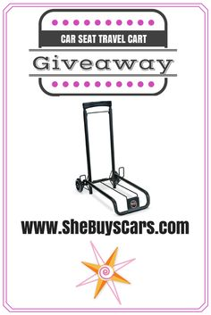 Win a Travel Cart - TODAY!