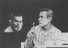 Peter brook een acteur uit 1990 hij speelt in de kunst van de eenhoud