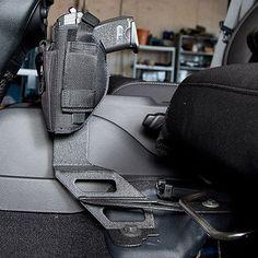 Condition Zero Pistol Mount, Black - Left Side Jeep Mods, Truck Mods, Weapon Storage, Gun Storage, Truck Storage, Bug Out Vehicle, Vehicle Repair, Jeep Xj, Jeep Wrangler
