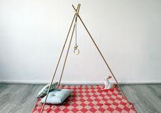 DIY : fabriquer un portique d'activités pour bébé simplissime