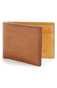 Magnanni 'Arkansas' Leather Bifold Wallet available at #Nordstrom