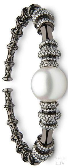 Yoko London Twilight South Sea pearl cuff