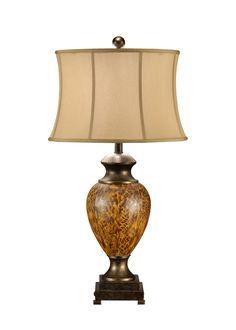 Wildwood Tortoise Effect Lamp 46642