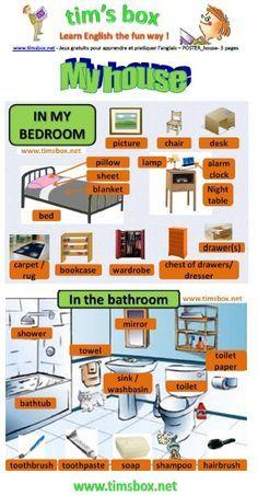 My house - vocabulary