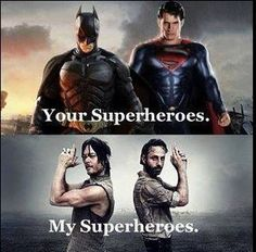 My favorite superheroes.