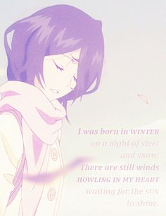 Is this an anime? If it is please tell me because i fell in love with this quote. Please!!!! COMMENT!!!!!
