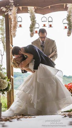 Ashley & Greg's Rustic-Glam DIY Wedding at Hawk's View | Premier Bride Wisconsin