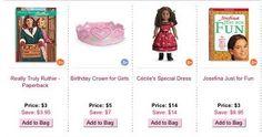 American Girl Cyber Monday Deals 2013 Row 22 Screenshot