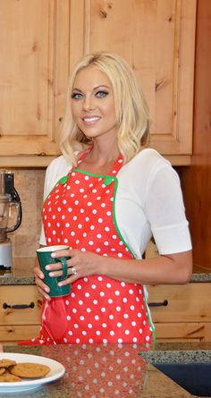 Happy Holidays!  Are you ready??  This Deck The Halls Aprons from Flirty Aprons is cute and versatile.  Use coupon code EVERYTHING35 to get 35% off your purchase!!!
