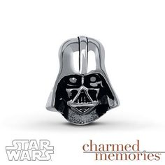 Embrace the dark side with this Darth Vader charm!
