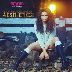 Sport an unique sense of aesthetics by adorning Amrut creations!  Be with Amrut - The Fashion Icon and feel the new Fashion !!!  www.amrut.co ‪#StyleWithAmrut‬ ‪#FashionWithAmrut‬ ‪#FashionWithStyle‬