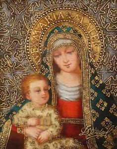 Madonna with Boy