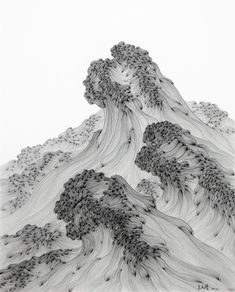 """iamjapanese: """"Wu Gaozhong(吴高钟 Chinese, 2012 work on paper via """" Chinese Painting, Chinese Art, Inspiration Artistique, Art Asiatique, Ink Art, Asian Art, Art Inspo, Painting & Drawing, Cool Art"""