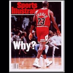#TBT: 19 years ago today, SI featured Michael #Jordan on the cover after he told the press he had nothing left to prove and was #retiring. You know the ending to this story... (Photo by David Liam Kyle) #NBA #Bulls #latergram #throwbackthursday