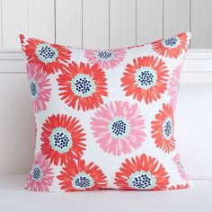 Bright Blossoms Duvet Cover + Sham