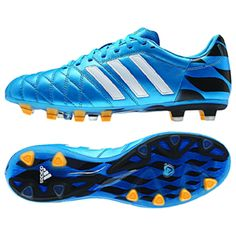 huge selection of 05d58 fa93b adidas 11Pro UEFA Champions League FG Soccer Shoes (Blue)