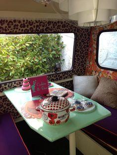 Interior caravana , decoración #decoration