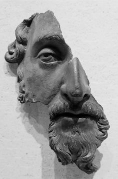 Marcus Aurelius, Bronze, the Louvre, Paris. Fragment of a bronze portrait. Roman artwork, after 170 CE. Roman Sculpture, Lion Sculpture, Art Sculptures, Sculpture Ideas, Sculpture Romaine, Art Antique, Roman Art, Ancient Artifacts, Ancient Rome