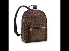 95844215a78a LOUUIS VUIITTON Josh MONOGRAM MACASSAR Men s Backpack Unboxing