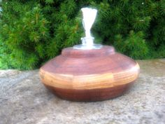 Handmade Wooden Oil Lamp by McKinneyWoodcrafters on Etsy