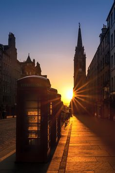 Royal Mile. Edinburgh, Scotland