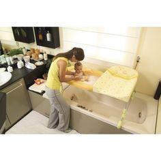 Brevi || ✔ Table à langer + baignoire Brevi Réversible Bagnotime alien vert, au meilleur prix, livraison gratuite à partir de 100€ chez Poussette.com.