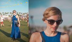 LOOKBOOK @ Coachella 2013 | LB LOG // Cobalt Blue Tie-Dye, Nasty Gal Dress, Warby Parker Glasses, Kooba Bag
