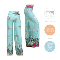 High waist Palazzo pants Beautiful printed palazzo with look great on you this season . Available in size small , medium large. Pants Wide Leg
