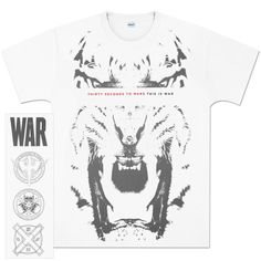 Thirty Seconds to Mars - Tiger T-Shirt
