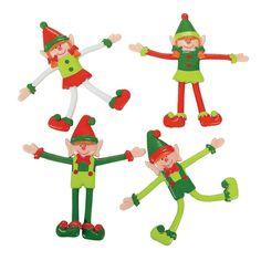 Christmas Elf Bendables - OrientalTrading.com